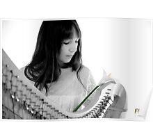 Harmonic Lilium Poster