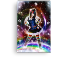 A Darker Rainbow Canvas Print