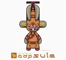Capsule Toyz - Orange Rabbit Ninja by Saing Louis