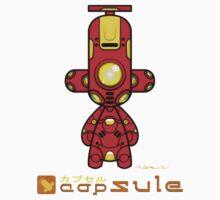 Capsule Toyz - Red Spy Robot by Saing Louis