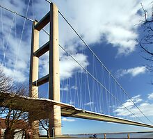 Humber Bridge UK by photogary1957