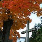 Old Rugged Cross by Linda Jackson