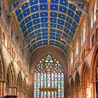 Nave, Carlisle Cathedral, Cumbria, England by Bob Culshaw