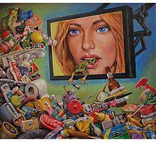 Talking Trash Photographic Print