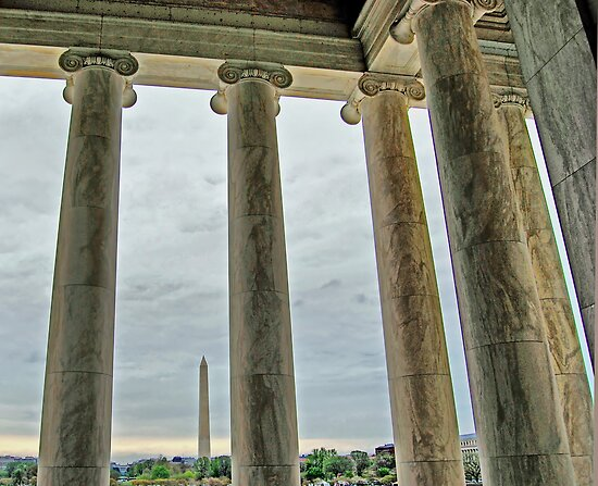 The Washington from the Lincoln by Clyde  Smith