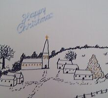 Christmas Church 2 by MicRiddy