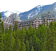 Banaff Fairmont Hotel, Canada by Ali Brown