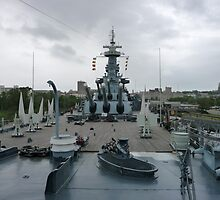 USS North Carolina by nealbarnett