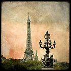 The Angels of the Eiffel Tower by Marc Loret