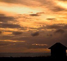 Dusk at Hunstanton, Norfolk. by Billlee