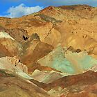 Artists Palette Mountains, Death Valley, Nevada by mypic