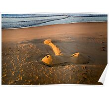 The Giant Sand Knob of Golden Beach Poster