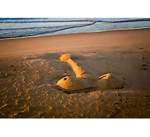 The Giant Sand Knob of Golden Beach Photographic Print