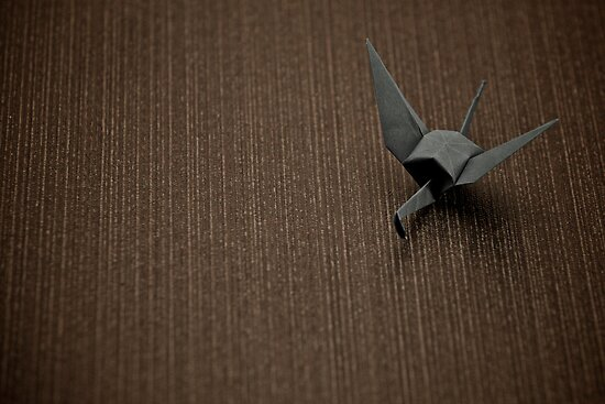 Paper Crane by James Troi