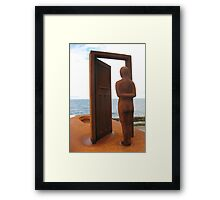 The Doorway from Life...to Death. Framed Print
