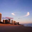 Sunlit Towers...... Main Beach .... Surfers Paradise  by BK Photography