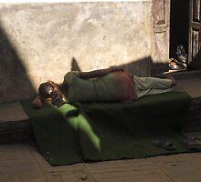 Nepal Siesta by Meni