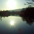Sunset Lake by Chris Goodwin
