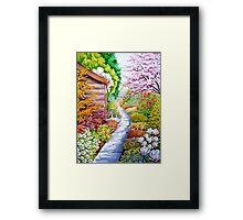 Secret Path Framed Print