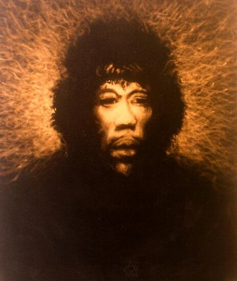 Mr Hendrix by Cary McAulay