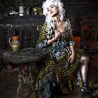 Dragon Lady Faded Glory by AnsonFineArt