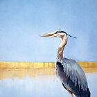 Great Blue Heron by Greg  Marquez