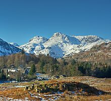 Oh To Be In Langdale Now That Winter Is Here by Jamie  Green