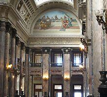 Legislative Palace ~ Montevideo Uruguay  by Lucinda Walter