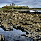"""Headland Grandeur, Dunstanburgh Castle"" by Bradley Shawn  Rabon"