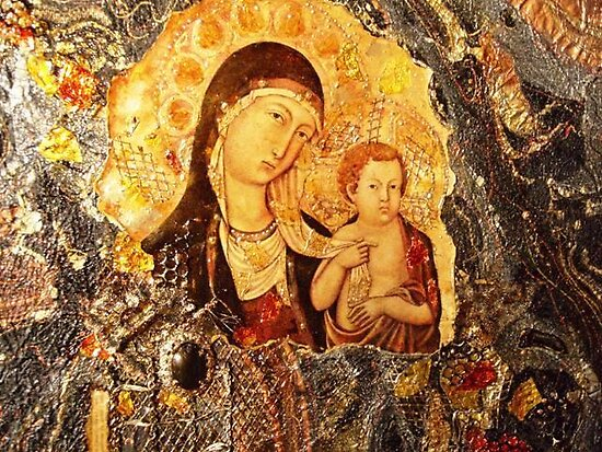 Madonna and Child by Ian A. Hawkins