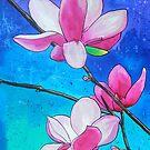 Magnolias XXI by Alexandra Felgate