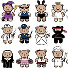 Dress up little bears by funfang