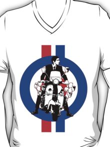 Sixties Mod Rider stripes T-Shirt