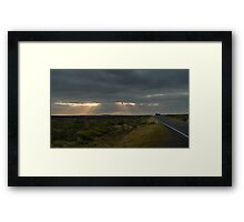Dawn over the Great Ocean Road Framed Print