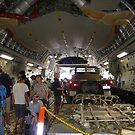 Inside A Big Military Aircraft by stevealder
