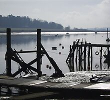 Deben Moorings, Woodbridge, Suffolk. by wiggyofipswich