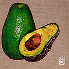 Avocado by Sonia de Macedo-Stewart