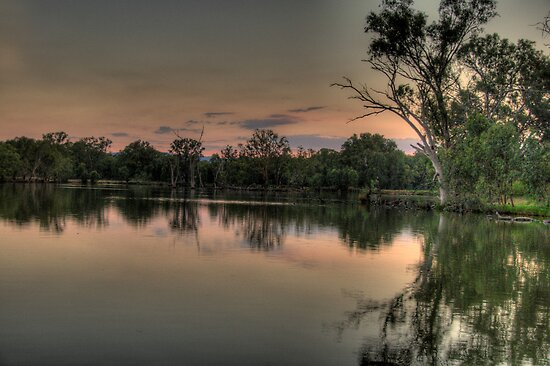 River Dance - Murray River, NSW Australia - The HDR Experience by Philip Johnson