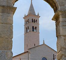 Church of St Anthony in pula by Ian Middleton