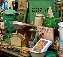 Vintage Kitchenware by Susie Peek