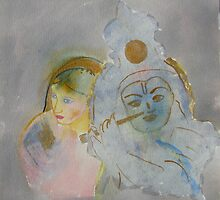 Radha Krishna by homeartist
