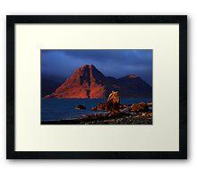 Elgol in November Light, Isle of Skye, Scotland Framed Print
