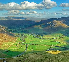 The Langdale Valley by Jamie  Green