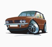Triumph Dolomite Sprint Brown by Richard Yeomans