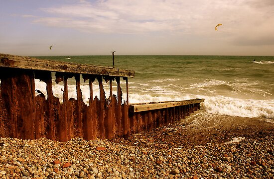 The Irresistable Force and the Immovable Object - Worthing by Matthew Floyd