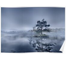 Morning Mist - Tarn Hows Poster