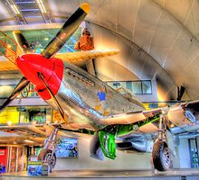 North American P-51D Mustang - Hendon - HDR by Colin J Williams Photography