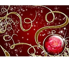 Enchanted Rose Gem series  # 1 Photographic Print