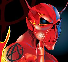 Devil Sign by Brian Gibbs