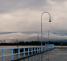 San remo Jetty panoramic 2 by madcorey